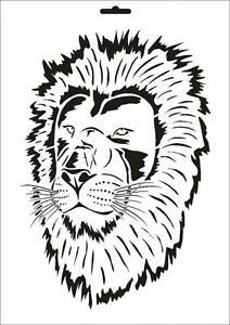 Wandschablone Maler T-shirt Schablone W-135 Gecko ~ UMR Design