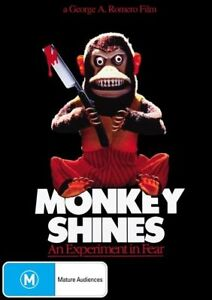 MONKEY-SHINES-GEORGE-A-ROMERO-RARE-OOP-GENUINE-RELEASE-Region-4-DVD-HORROR