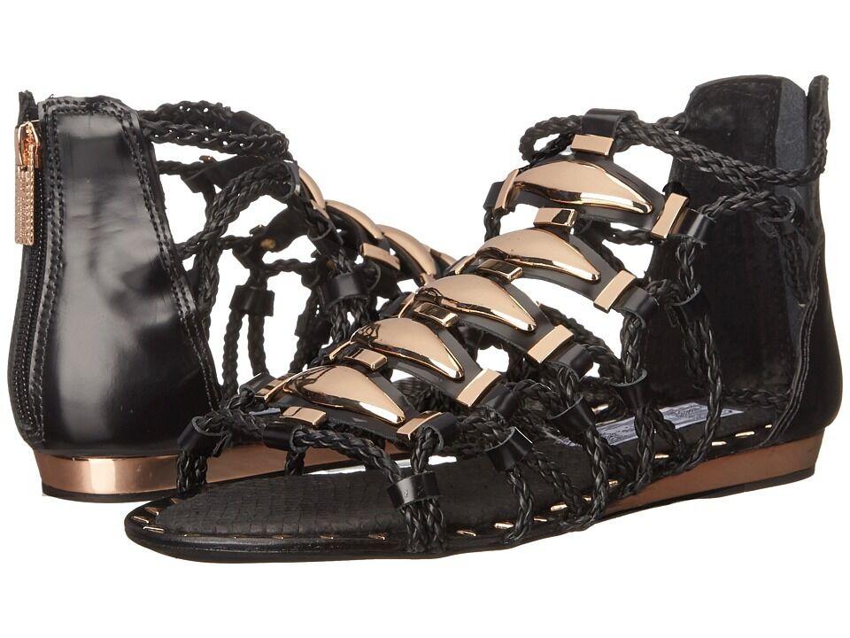 ivy kirzhner Noir  brass sandales flats cheville sandale sandale cheville 9 - 39 0f5b9f
