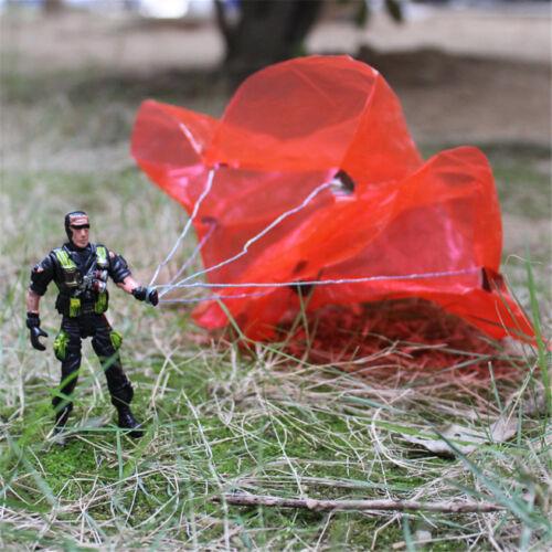 9cm Paratroopers Parachute soldiers Miniatures Military figures Model Kids  FJ