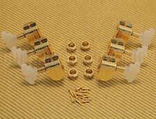 * 150GP Grover Imperial 3+3 Gold Guitar Tuning Machine Heads w/ Pearl Buttons