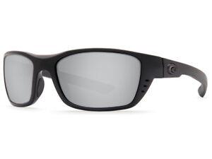 NEW Costa Del Mar Reefton Blackout Silver Sunrise Mirror 580 Glass 580G