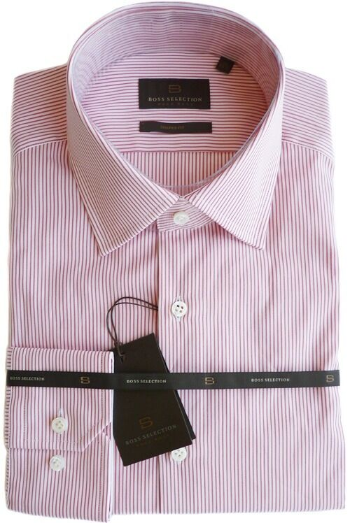 %%% Edles BOSS SELECTION Hemd Gr.39 (15 1/2) Form: THOB, SHAPED FIT