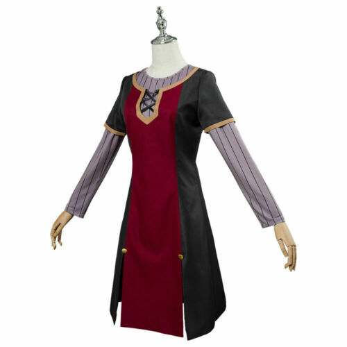 Details about  /The Rising of The Shield Hero Raphtalia Cosplay Costume Dress Suit Full Set  $f