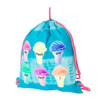 My Friends Are The Best Ice Cream Cone Reversible Drawstring Bag Bookbag