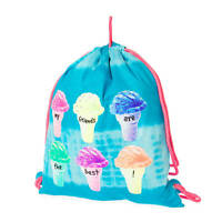 My Friends Are The Best Ice Cream Cone Reversible Drawstring Bag Bookbag