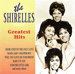 CD-the-shirelles-Greatest-Hits-will-you-love-me-tomorrow-soldier-boy-entre-autres