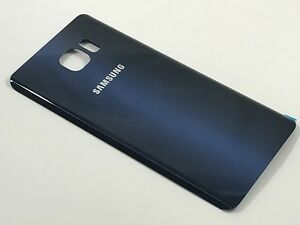 detailed look d72ee a9493 Details about Samsung Galaxy Note 5 Rear Battery Cover Back Glass Housing  Replacement - Blue