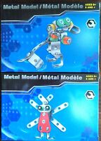 Build Steel Metal Model 2 Kit Animal Set Puppy Dog Insect Bug Kid Child Toy