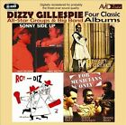 Four Classic Albums: For Musicians Only/Roy and Diz #2/Sonny Side Up/Dizzy in Greece by Dizzy Gillespie (CD, May-2011, 2 Discs, Avid Jazz)