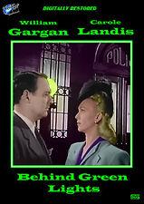 Behind Green Lights starring Carole Landis and William Gargan 1946