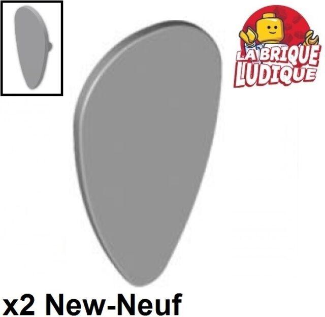 Shield Ovoid Plain Light Bluish Gray Minifig NEW LEGO Castle Minifig
