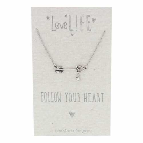 Necklace Gift Follow Your Heart LL110
