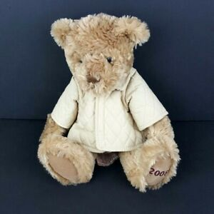 Burberry-Fragrances-Plush-Teddy-Bear-Russ-Berrie-12-034-Tan-Coat-Raincoat-2008