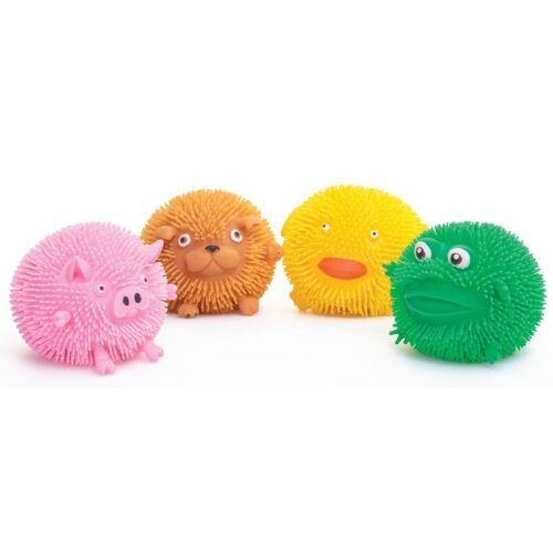 Un conjunto de 4 Juguetes-Sensorial Puffimal Squeezy Animales Juguetes-ADHD-Regalo-Cumpleaños