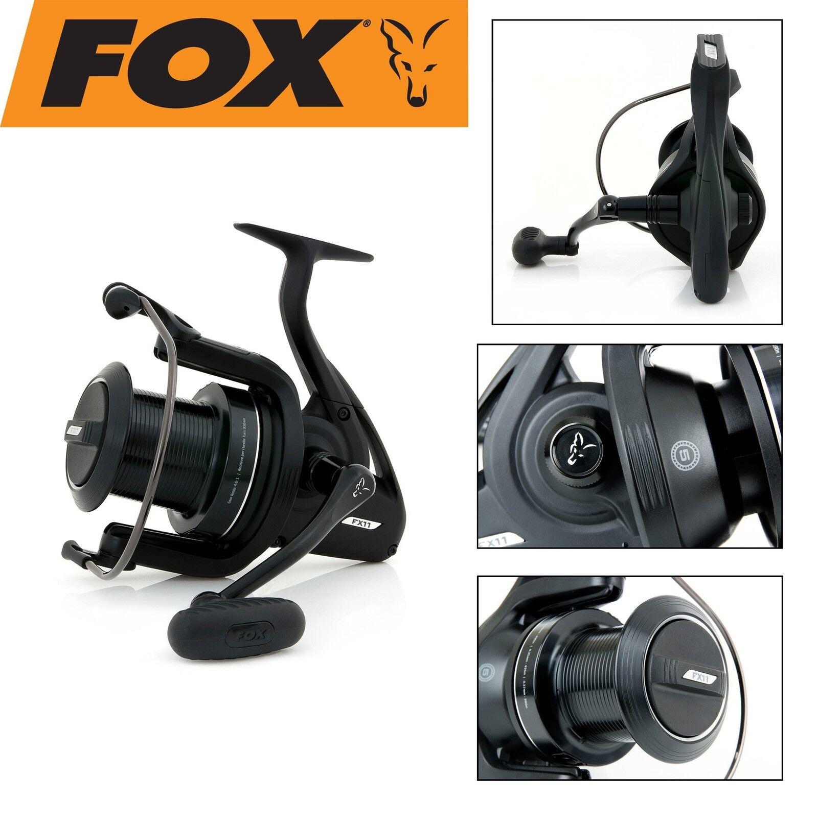 Fox zum FX11 Reel Rolle, Karpfenrolle, Wallerrolle, Angelrolle zum Fox Karpfenangeln 8361eb