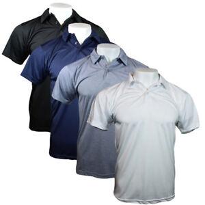 1b0c2b83 WHOLESALE LOT 24 & 48 Pieces Mens Polo Shirt Button Athletic Fit ...