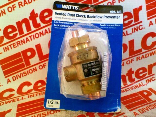 WATTS WATER TECHNOLOGIES 9D-M3-1//2 Surplus New In Box 9DM312