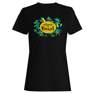 Welcome-TO-Brazil-Ladies-T-shirt-Tank-Top-x136f