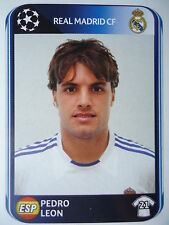 Panini 441 Pedro Leon real madrid uefa cl 2010/11