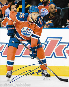 Edmonton-Oilers-Darnell-Nurse-Autographed-Signed-8x10-NHL-Photo-COA-X