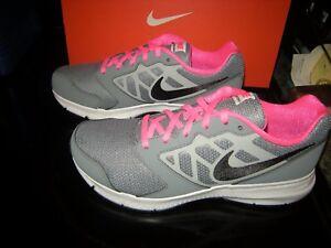 Girls Gray \u0026 Pink Nike Downshifter 6