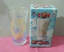 One Piece glass cup - Thousand sunny ship + free hand towel