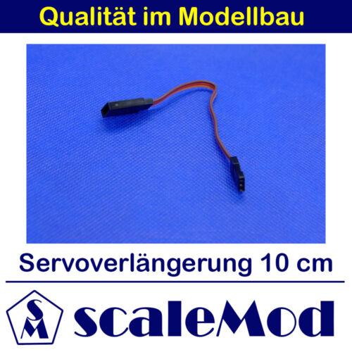 scaleMod Servoverlängerung 26AWG 10cm 5 Stk