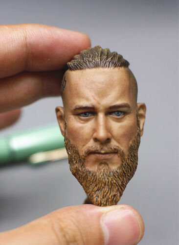 Ares Toys 1//6 Scale Viking Head Sculpt Viking Legend Head Carving F 12/'/' HT Body