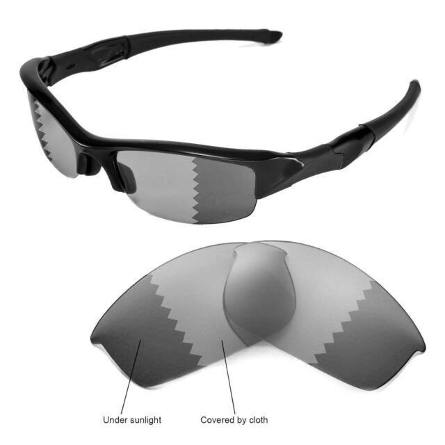 0dae3689652 New Walleva Polarized Transition Photochromic Lenses For Oakley Flak Jacket