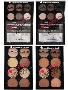 Pick-2-LA-Colors-Brow-OR-Contour-Palette-Light-to-Medium-or-Medium-to-Dark