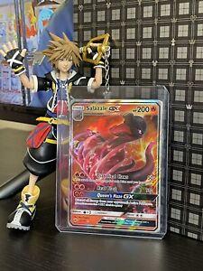 Salazzle GX 25/147 Burning Shadows Ultra Rare Pokemon Card NM/M