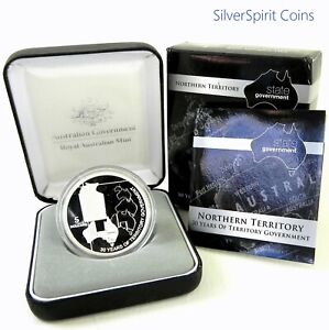 2008-STATE-GOVERNMENT-30-YEARS-NORTHERN-TERRITORY-Silver-Proof-Coin