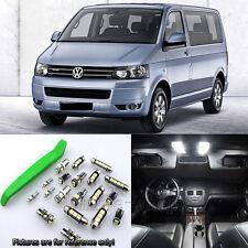 16pcs White LED Interior Light Kit for VW T5 MULTIVAN Highline ...