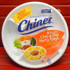 8 Count Chinet Chip and Dip Party Trays