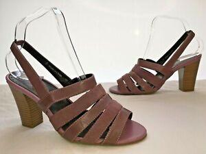M\u0026S Footglove Ladies Mauve Leather
