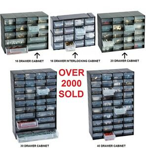 Image Is Loading Multi Drawer Storage Cabinet Unit Small Parts Nail