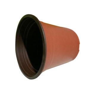 Breathable-20-30-50-100-pcs-Flowerpot-Seedling-Plastic-Garden-Flower-amp-Plant-UDW