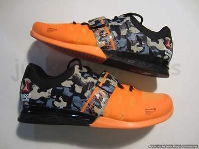 NEW Reebok Crossfit Lifter 2.0 Weightlifting training mens shoe V67579 orange