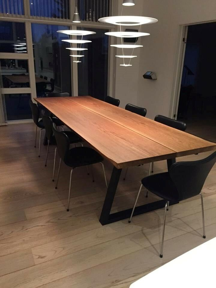 Spisebord, Plankebord Massiv EG, b: 110 l: 350