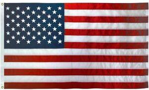 American-Flag-USA-BOAT-FLAG-12-034-x18-034-Sewn-Embroidered-Stars-Sewn-Stripes-USA-Made