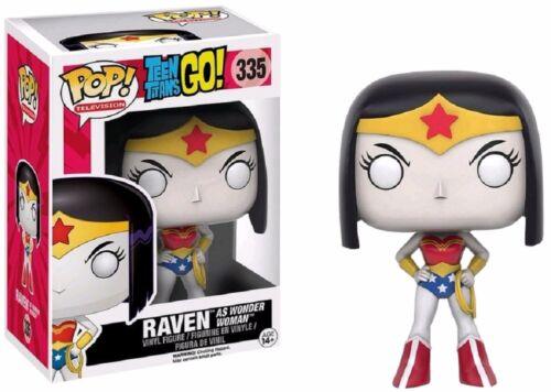Teen Titans Go Funko Pop Raven As Wonder Woman Exclsuive Vinyl Action Figure