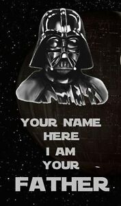 Star Wars Darth Vader Father Personalised Fridge Magnet  Available in 2 Sizes - <span itemprop=availableAtOrFrom>Bournemouth, United Kingdom</span> - Returns accepted Most purchases from business sellers are protected by the Consumer Contract Regulations 2013 which give you the right to cancel the purchase within 14 days after the  - Bournemouth, United Kingdom