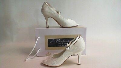 G Westerleigh Wedding Bridal Shoes Ivory Size 39 UK 6 #8R251 Hannah