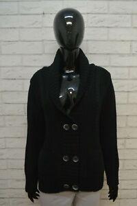 SERGIO-TACCHINI-Maglione-Taglia-M-Cardigan-Donna-Pullover-Sweater-Woman-Lana