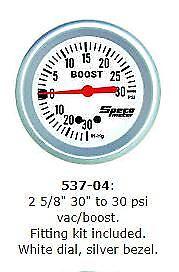 SPECO-2-5-8-PRO-30-034-30-PSI-VAC-BOOST-GAUGE-P-N-537-04