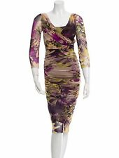 UBER FLATTERING NEW SOLD OUT JEAN PAUL GAULTIER RUCHED MESH DRESS