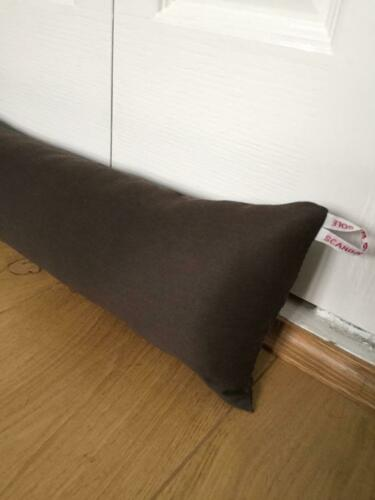 DRAUGHT EXCLUDER draft excluder with filling draft stopper DOOR DRAFT STOPPER