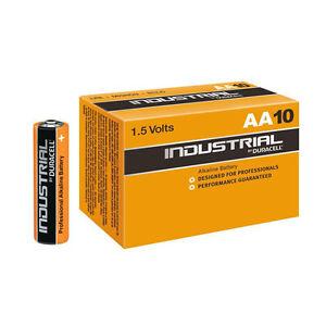 10-Stueck-AA-Duracell-INDUSTRIAL-Alkaline-Batterien-MN1500-LR6-Mignon-AA-10-Stueck