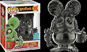 Rat Fink Vinyl Rat Fink Grey Chrome SDCC 2019 US Exclusive Pop